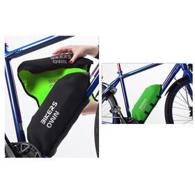 BIKERSOWN Protezione batteria da telaio Protezione parti per Yamaha verde/nero